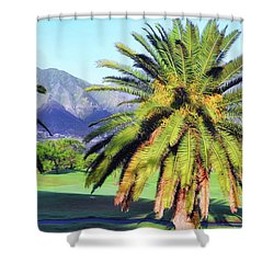 Morning Sun At Dunes Golf Course Shower Curtain