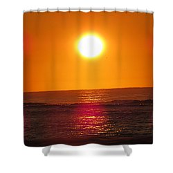 Morning Sun Break Shower Curtain