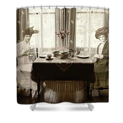 Morning Tea Shower Curtain