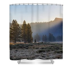 Morning Tuolomne  Shower Curtain