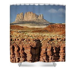 Shower Curtain featuring the photograph Morning View by Nikolyn McDonald