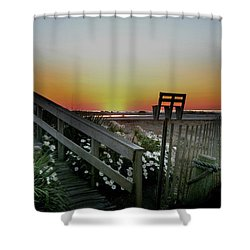 Morning View  Shower Curtain by Skip Willits