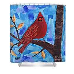 Morning Visit Shower Curtain