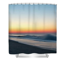 Morning Waves - Beach Haven Shower Curtain