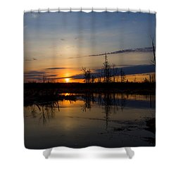 Morning Wilderness Shower Curtain