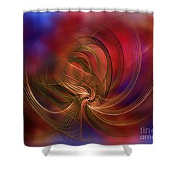 Morning Workout Shower Curtain