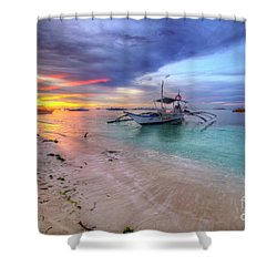 Shower Curtain featuring the photograph Morningtide 2.0 by Yhun Suarez