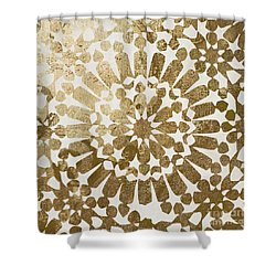 Moroccan Gold II Shower Curtain