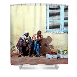 Morocco Shower Curtain by Tim Johnson