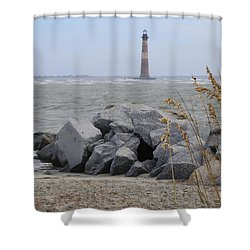 Morris Island Shower Curtain