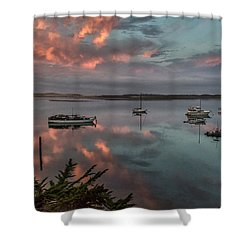 Morrow Bay Shower Curtain