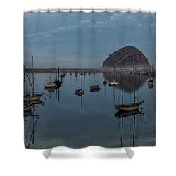 Morrow Bay Reflection Shower Curtain