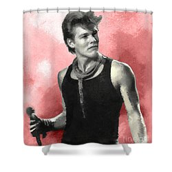 Morten Harket - A-ha Shower Curtain