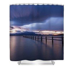 Mortimer Bay Shower Curtain