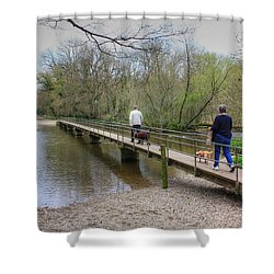 Morton Bridge Shower Curtain