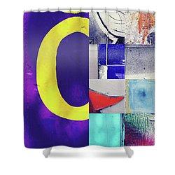 Mosaic 4 Shower Curtain