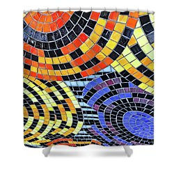 Mosaic No. 113-1 Shower Curtain