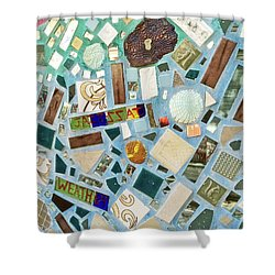 Mosaic No. 6-1 Shower Curtain