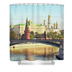 Moscow, Kremlin Shower Curtain by Irina Afonskaya
