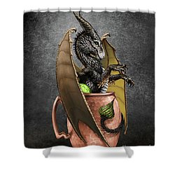 Moscow Mule Dragon Shower Curtain