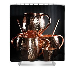 Moscow Mule Set Shower Curtain