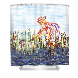 Moses In The Rushes Shower Curtain
