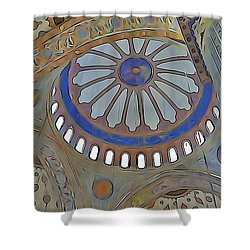 Mosque Dome Shower Curtain