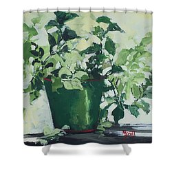 Mosquito Be Gone Shower Curtain