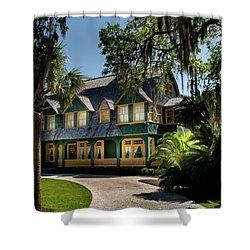 Moss Cottage Shower Curtain