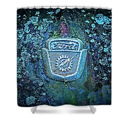 Mossy Ford  Shower Curtain
