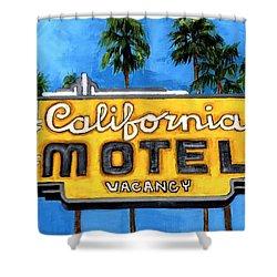 Motel California Shower Curtain