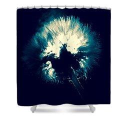 Moth Man Shower Curtain