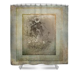 Mother And Child Reunion Vintage Frame Shower Curtain
