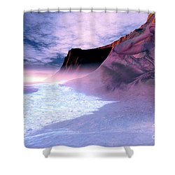 Mother Earth Shower Curtain by Corey Ford