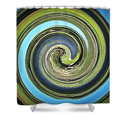 Mother Earth Shower Curtain by Scott Haley