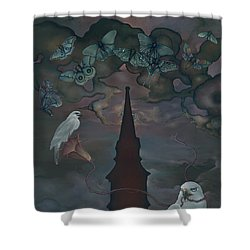 Mother Emanuel Shower Curtain by Andrew Batcheller