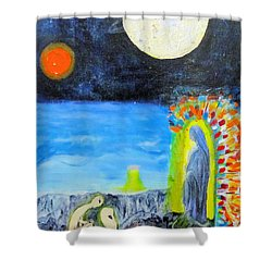 Mother Everywhere Shower Curtain