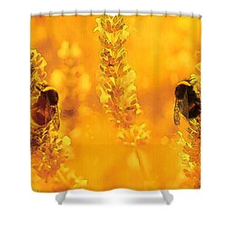 Shower Curtain featuring the digital art Mother Nature At Work    by Fine Art By Andrew David