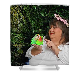 Mother Nature Shower Curtain by Robert Hebert