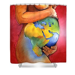 Mother Of All Colors Shower Curtain