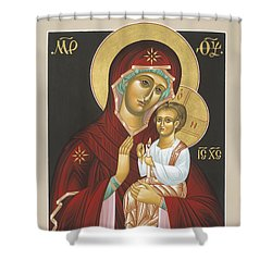 Mother Of God Light In All Darkness 016 Shower Curtain