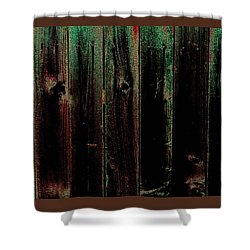 Mother Of Pearl Fence Shower Curtain