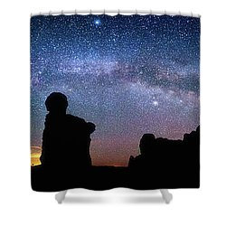Shower Curtain featuring the photograph Mother Of The Garden by Darren White