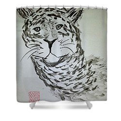 Mother Sister Jaguar Shower Curtain