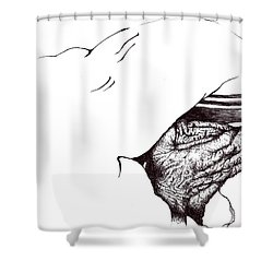 Mother Teresa-pray Today Shower Curtain