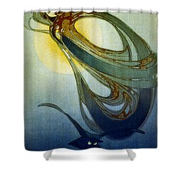 Mother West Wind 1920 Shower Curtain by Padre Art