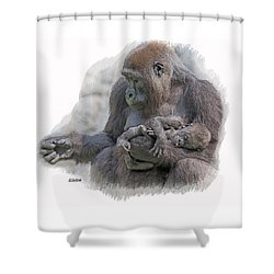 Motherhood 8 Shower Curtain