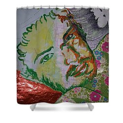 Mothering Max Shower Curtain