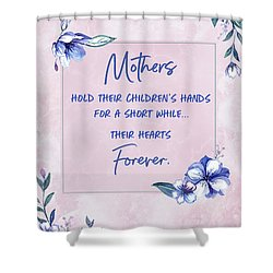 Mothers And Their Children Shower Curtain