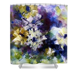 Shower Curtain featuring the painting Mothers Day by Katie Black